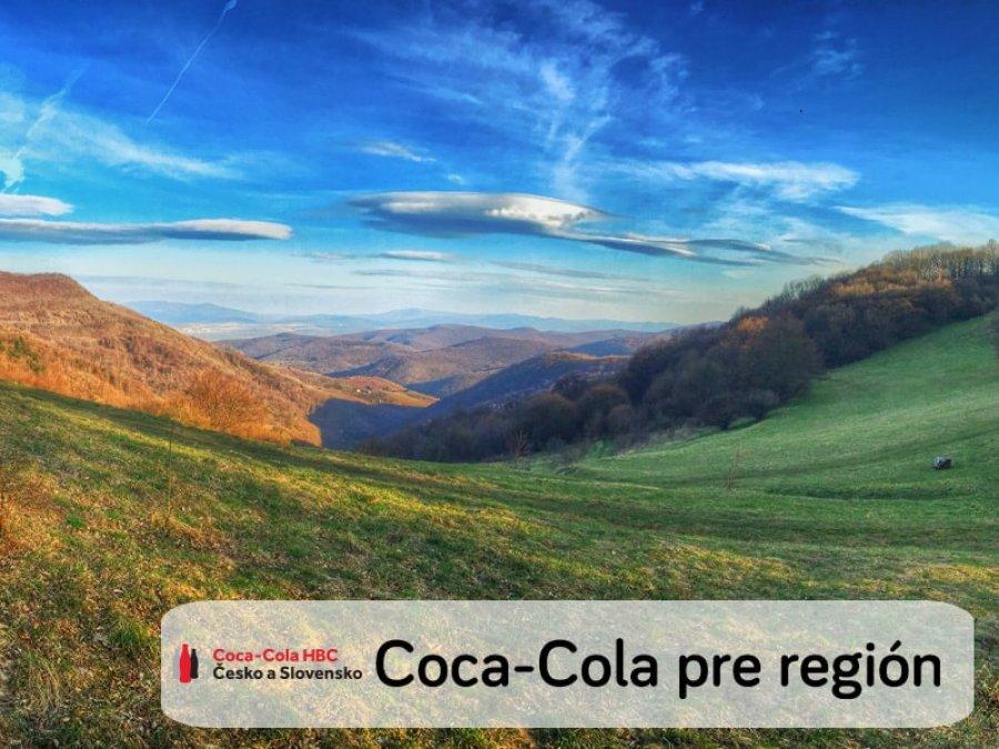 Coca-Cola HBC podporí región okolo Lúky