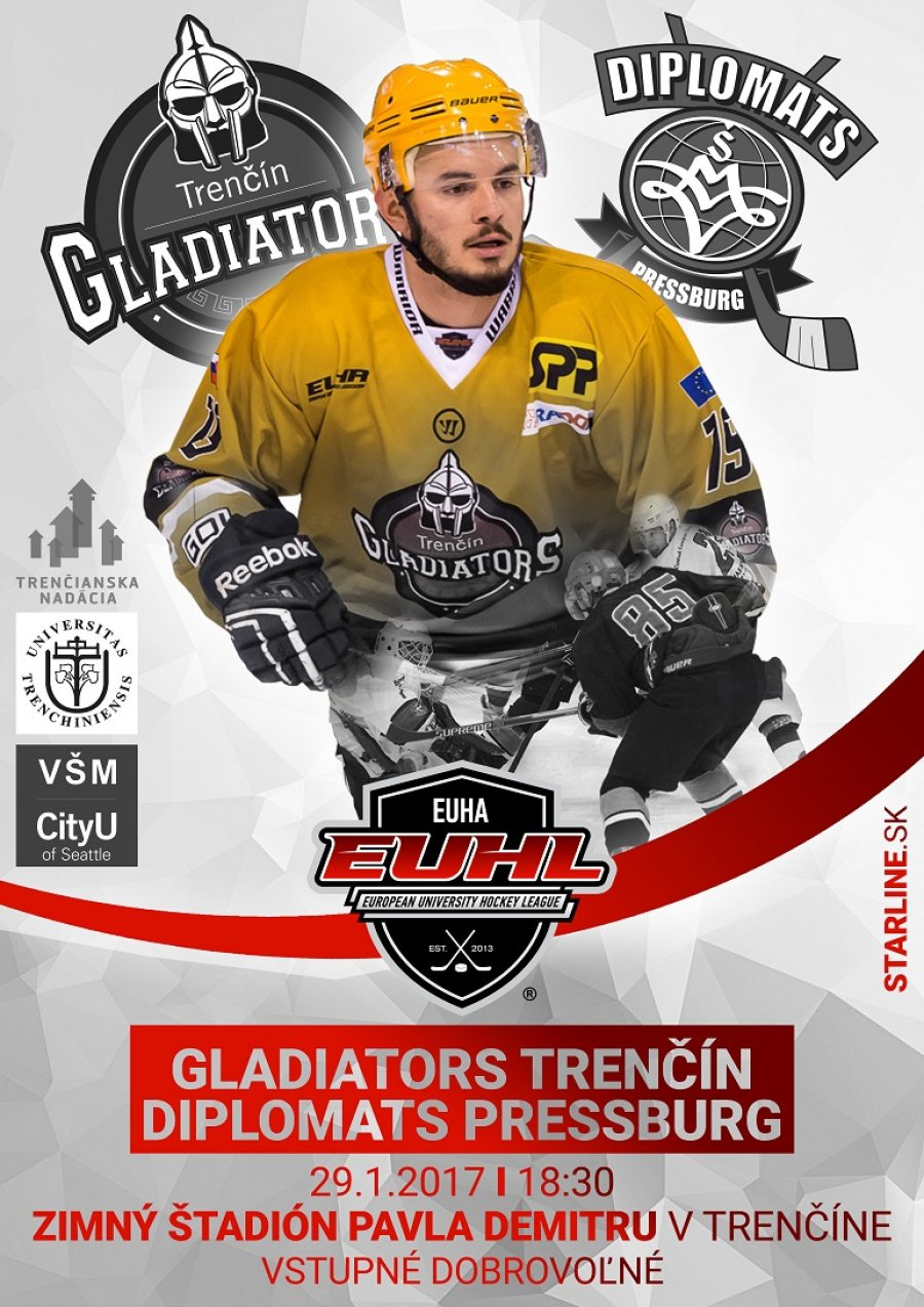 The Gladiators Donate to the Trenčín Foundation