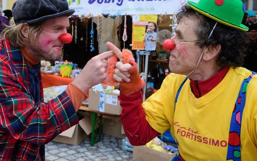 In August, Friends from Netherlands Will Visit Dr. Clown