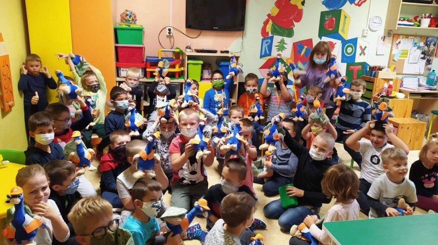 Deti z DSS sa aj v roku 2021 zabávajú s Dr. Klaunom